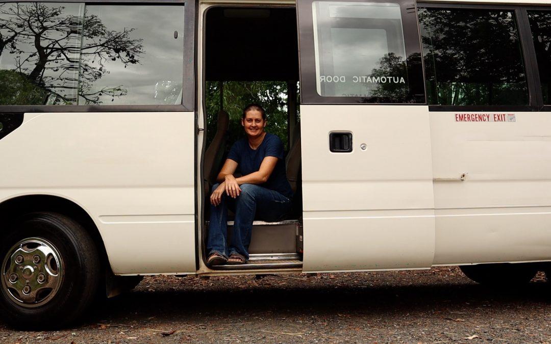Introducing Mia – my Toyota Coaster Bus
