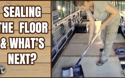 Sealing the floor and what's next?