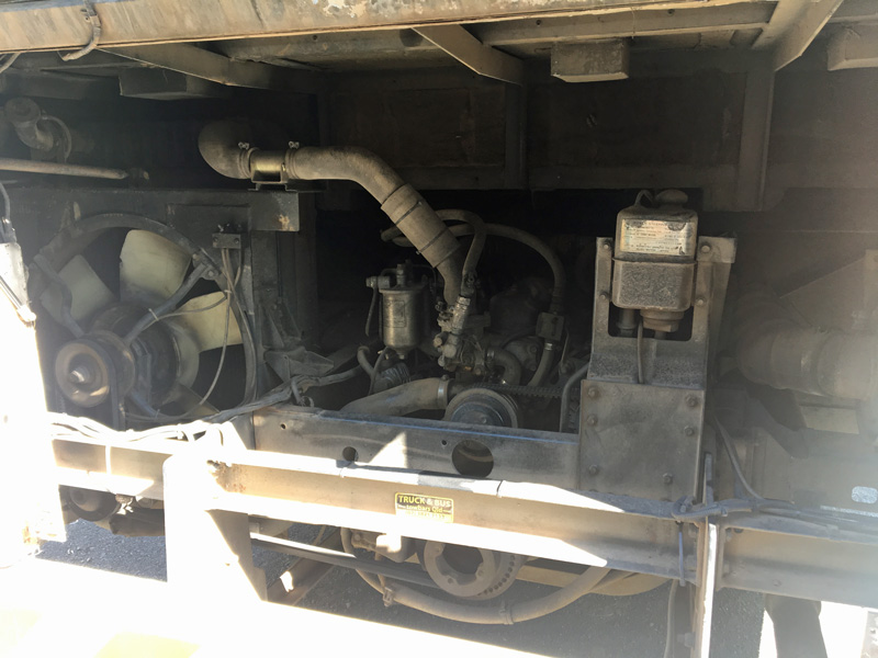 isuzu bus engine