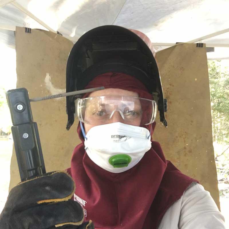 me in my welding gear