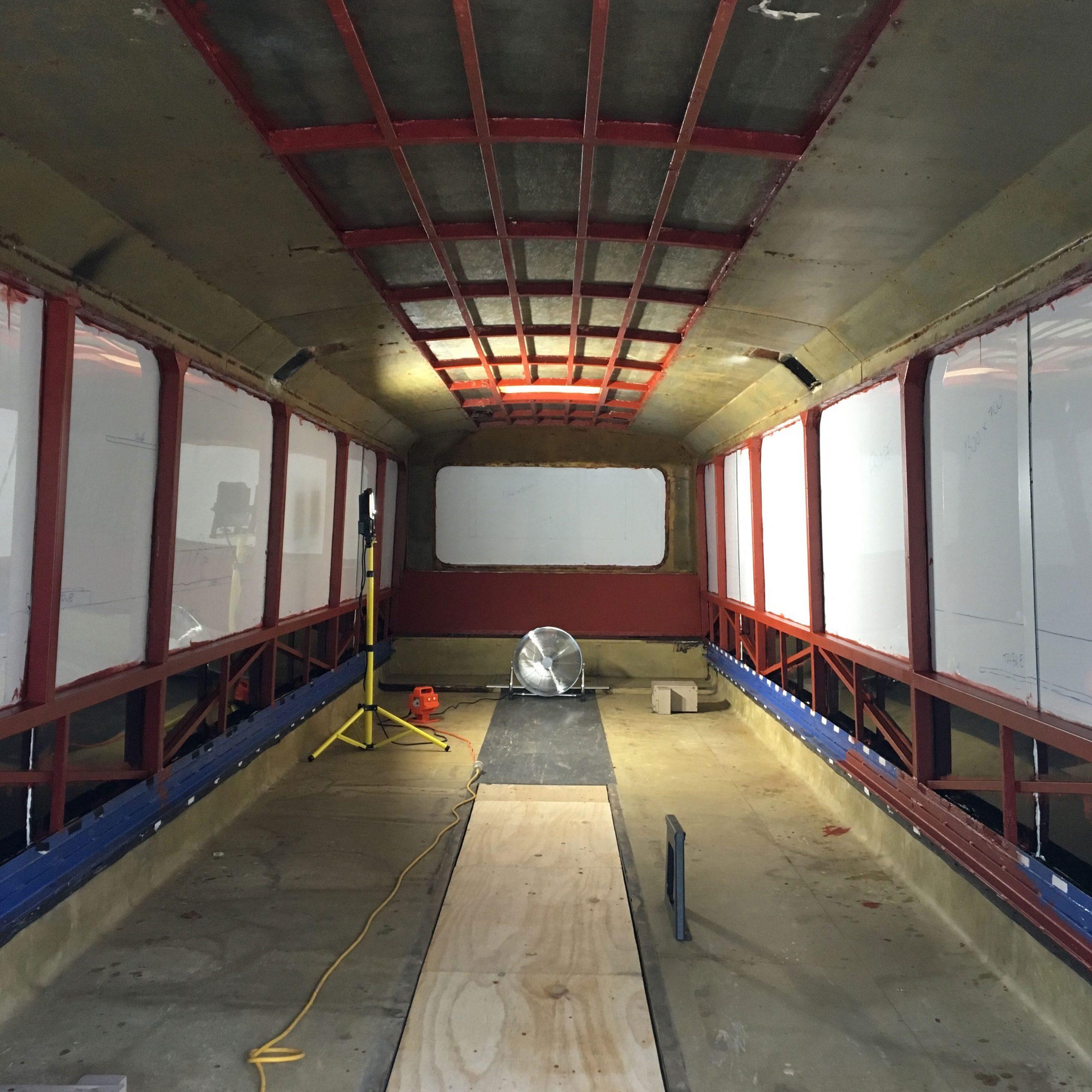 original bus floor